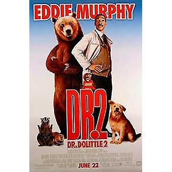 الدكتور Dolittle 2 (مزدوجة من جانب العادية) ملصق السينما الأصلي