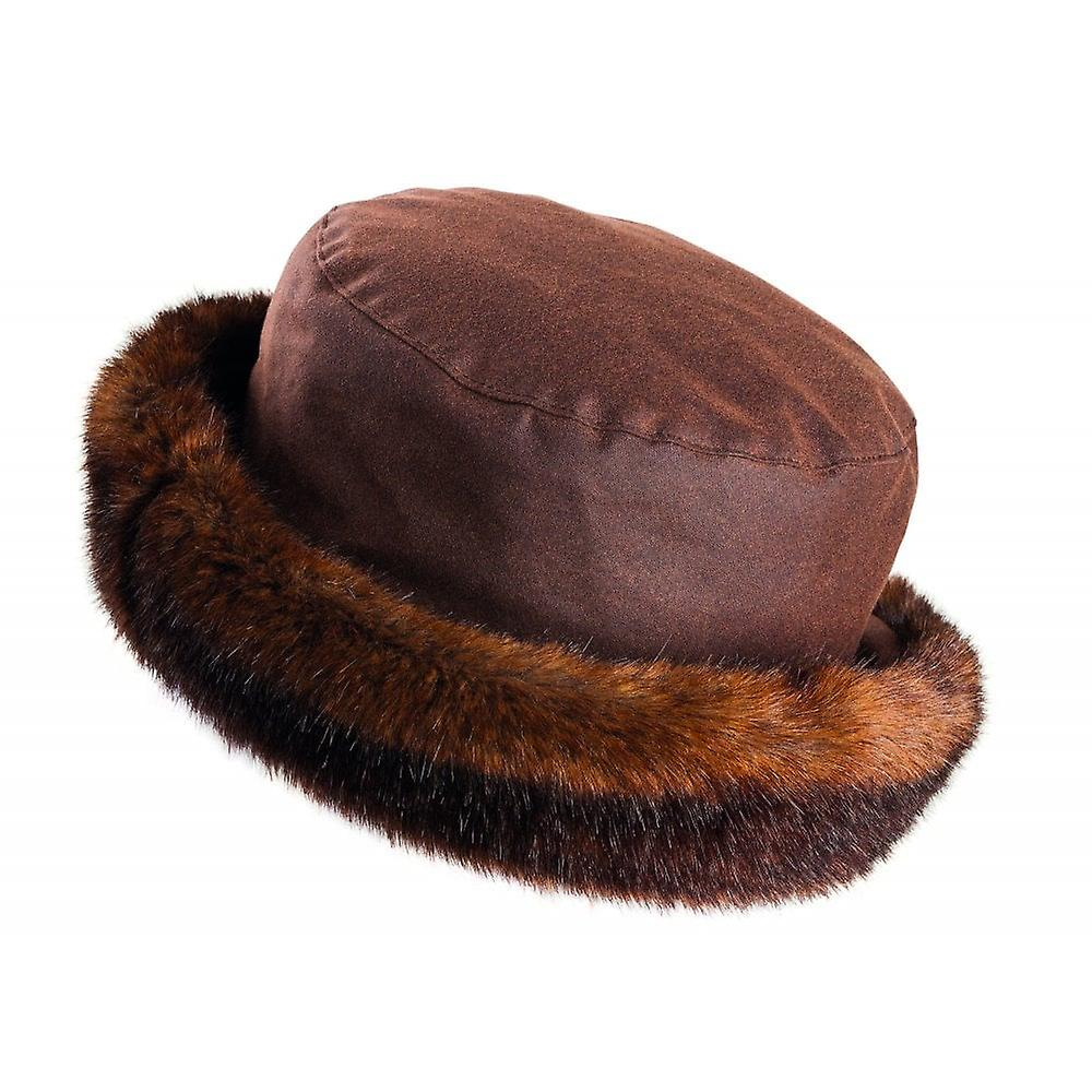 Olney Beth Wax & Fur Hat