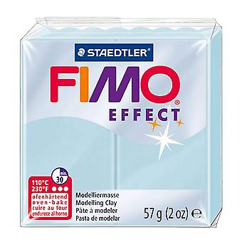STAEDTLER FIMO Effect 8020-306 Oven Hardening Modelling Clay, 57 g - Blue Ice Quartz
