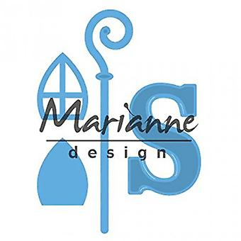 Marianne Design Creatable Sinterklaas Cutting Die, Blue
