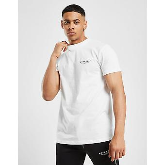 Novo McKenzie Men 's Essencial Short Sleeve T-Shirt White