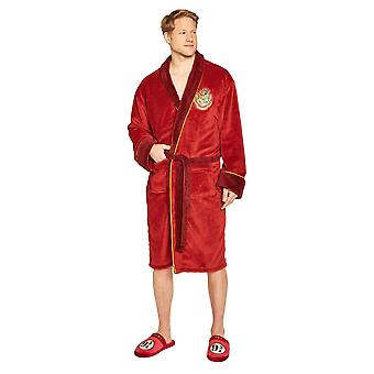 Harry Potter Hogwarts Express Velo Hoodless Robe Mens Adult One Size