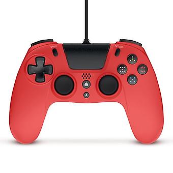 Gioteck VX4 bedrade rode controller (PS4 & PC)