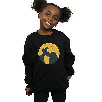 Disney Girls Lady And The Tramp Moonlight Kiss Sweatshirt