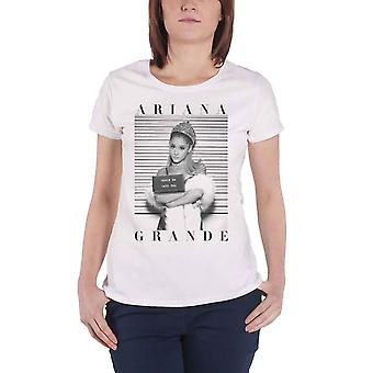 Oficial skinny ARIANA GRANDE camiseta camiseta blanca taza shot into you all sizes