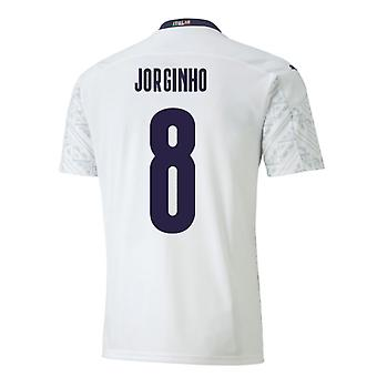 2020-2021 Italy Away Puma Football Shirt (JORGINHO 8)