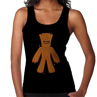 Marvel Avengers Christmas Gingerbread Groot Women's Vest