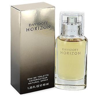 Davidoff horizon eau de toilette spray by davidoff 543405 40 ml