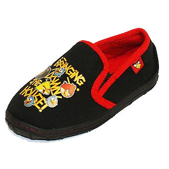 Neue Kinder Qualität Angry Birds Comic Cartoon Charakter klassischer Slipper Navy UK10