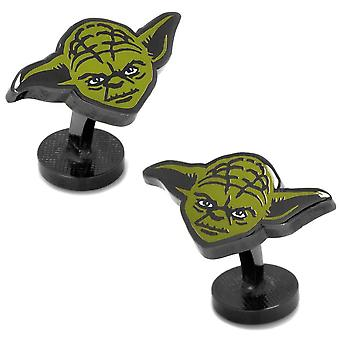 Star Wars Yoda Spinki do mankietów