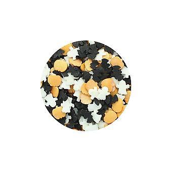 Paarse cupcakes-pompoen, vleermuis & Ghost strooi mix 60g