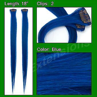 (2 PCS) Sininen Koho kohta Streak Pack