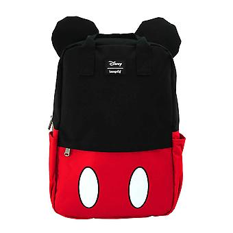 Mickey Mouse Backpack Bag Ears Logo Cosplay new Official Loungefly Disney Black