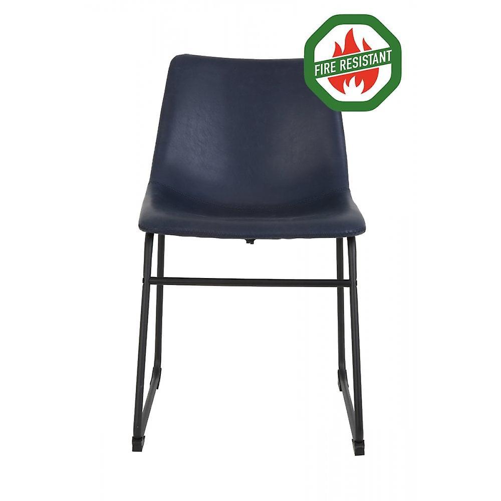 Chaise à manger light & living 55x45x79cm Jeddo Fr Dunkelblau