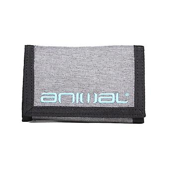 Animal Luzon Polyester Wallet in Grey