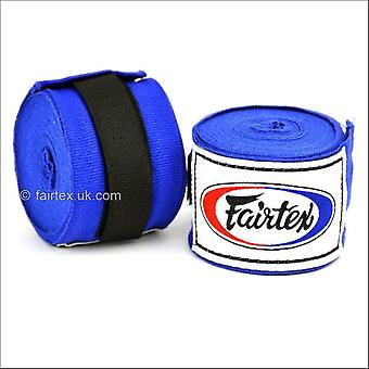 Fairtex 4.5m stretch hand wraps - blue
