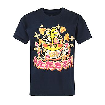 Five Nights At Freddy's T-shirt for Kids Chica Chicadakimasu Boys Navy Top