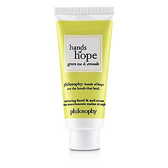 Hands of hope nurturing hand & nail cream green tea & avocado 242094 30ml/1oz