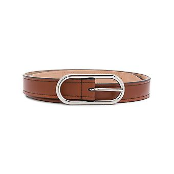 Acne Studios A80017ads Women's Brown Leather Belt