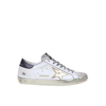 Golden Goose G36ms590t80 Men's White Leather Sneakers
