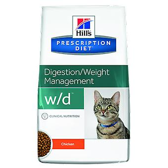 Hill's Prescription Diet w/d Digestive Wieight Management (Cats , Cat Food , Dry Food)