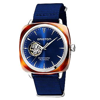 Briston 19740.SA.TI.9.NNB Clubmaster Iconic Blue Automatic Wristwatch
