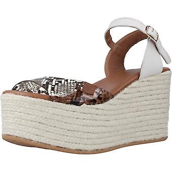 Menorquinas Popa Sandals 41003p Color Marrblanc
