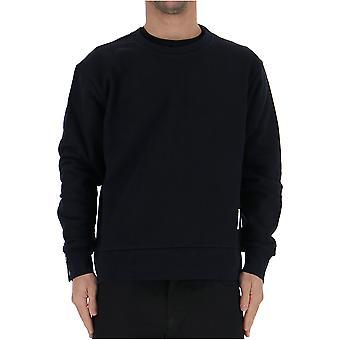 Thom Browne Mjt085a03377415 Men's Blue Cotton Sweater