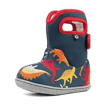 Baby bogs dino multi-coloured thermal waterproof boots