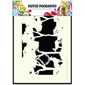 Dutch Doobadoo A6 Mask Art – Forest