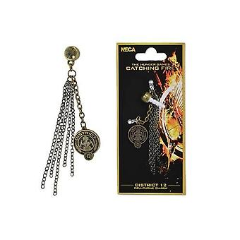 Hunger Games Catching Fire District 12 Phone Charm