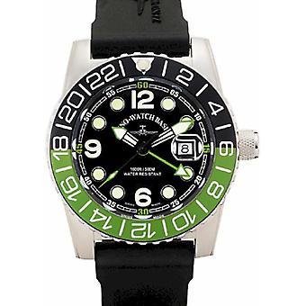 Zeno-Watch - Polshorloge - Heren - VliegtuigDuiker 6349Q-GMT-a1-8