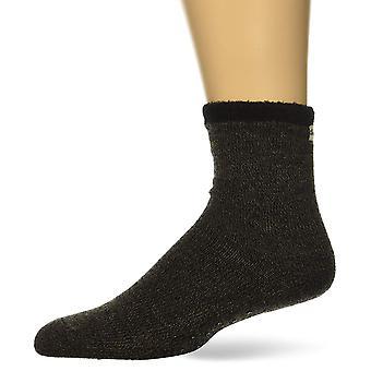 Dearfoams Women's Marled Knit Cabin Sock Slipper