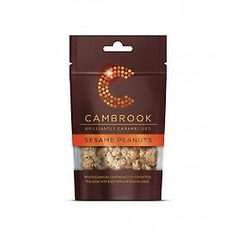 Cambrook - Caramelised Sesame Peanuts 80g x 18