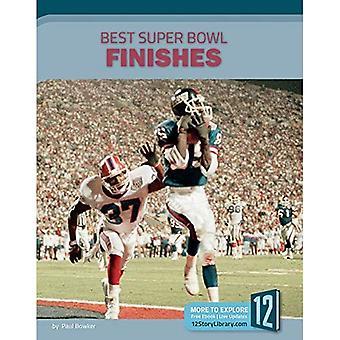 Best Super Bowl Finishes