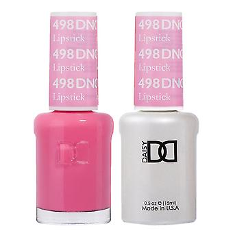 DND Duo Gel & Nail Polish Set - Lipstick 498 - 2x15ml