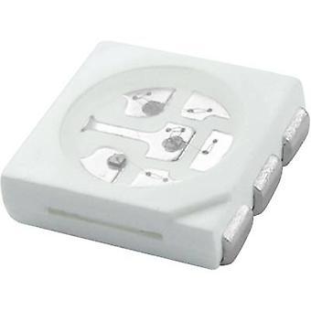 HuiYuan SMD LED 5050 Gul 1750 mcD 120 ° 20 mA 2,4 V