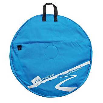 B&W Double Wheel Guard L Wheel Bag, Blu