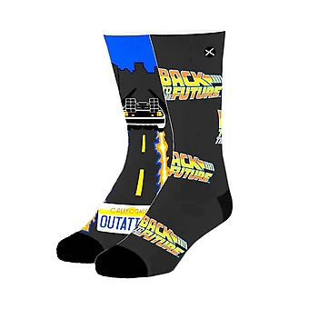 Back to the Future Time Traveller Sublimated 360 Crew Socks