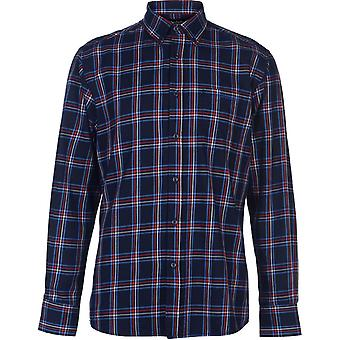 Pierre Cardin Sleeve Check Shirt Mens