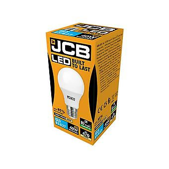 JCB LED A60 470lm Opal 6w Light Bulb E27 2700k