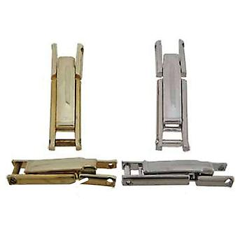 Watch strap bracelet clasp screw fitting
