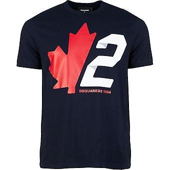 Dsquared2 Leaf 2 Logo T-skjorte