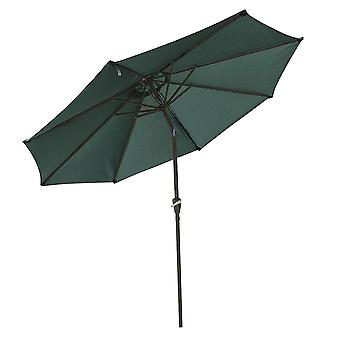 Yescom 10ft UV50+ Fade Resistant New OLEFIN Outdoor Patio Umbrella 8 Rib Crank Tilt Beach Market Pool Water Repellent