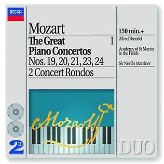 Brendel/Marriner/Asmf - Mozart: The Great Piano Concertos, Vol. 1 [DVD] USA import