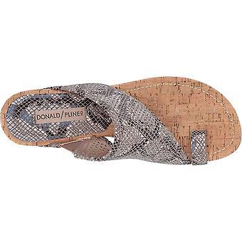 Donald J Pliner Womens Gyer 2 Leather Open Toe Casual Platform Sandals