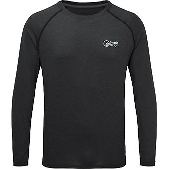North Ridge Men's Resistance Long Sleeve Baselayer Dark Grey