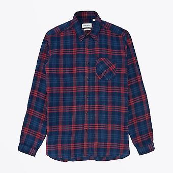 Oliver Spencer - New York Special Check Shirt - Bleu/Rouge