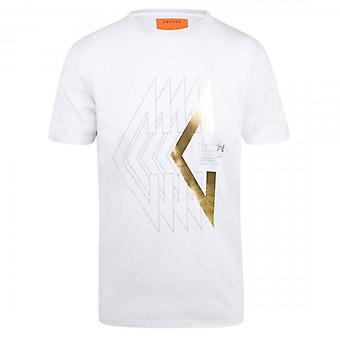 Cruyff Herren T-shirt WitGoud CA3390203010