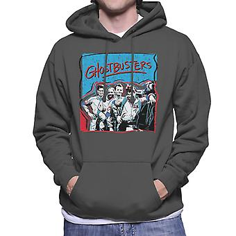 Ghostbusters Crew Drawn Portrait Men's Hooded Sweatshirt